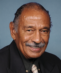 Rep. John Conyers Jr. (D) Representative from Michigan's 13th District, introduce the bill