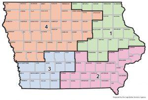 Iowa's Congressional districts