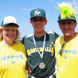 Mitch Neunborn playing for an Australian National team recently