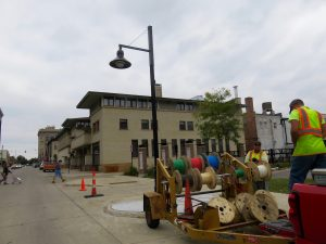 New street lights installed in downtown Mason City
