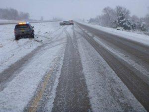 Iowa State Patrol photo of the crash scene