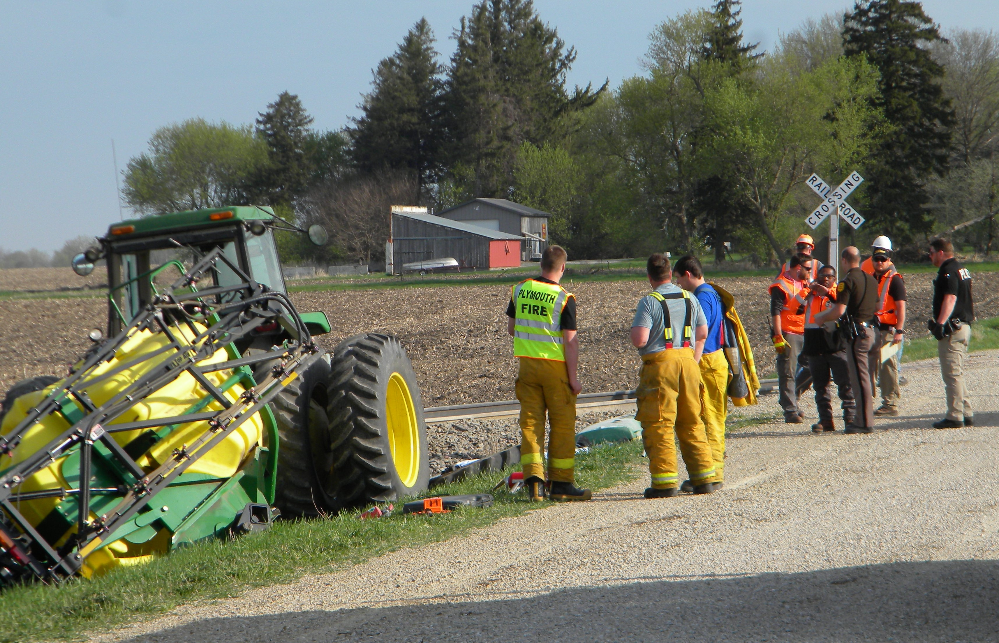 Tractor Pulling Train : Update fatality reported in worth county accident after